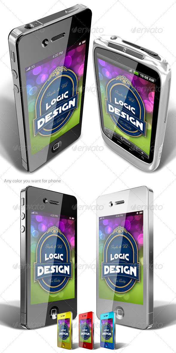 Phone and PDA Mock Up