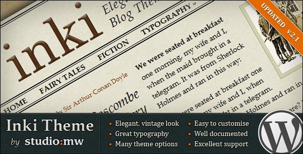 Inki - Elegant Blog Theme