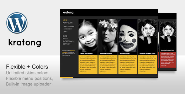 Kratong - Flexible Portfolio and Blog Template