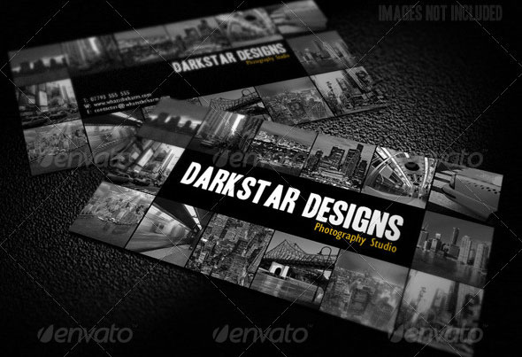 Photo Gallery Business Cards