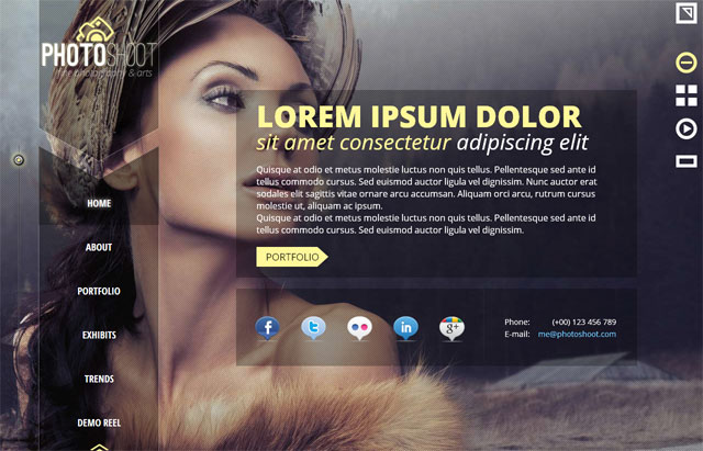 15 Beautiful Photography Website Templates | Web & Graphic Design ...