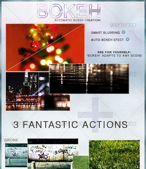 Bokeh Action + 3 Extras