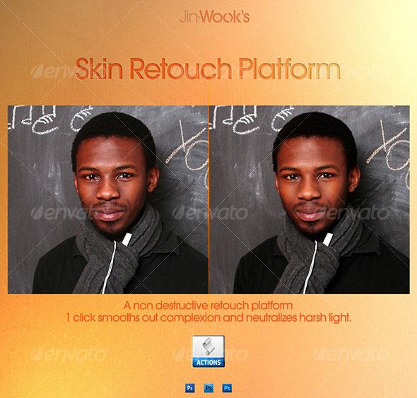 JinWook's Skin Retouch Platform