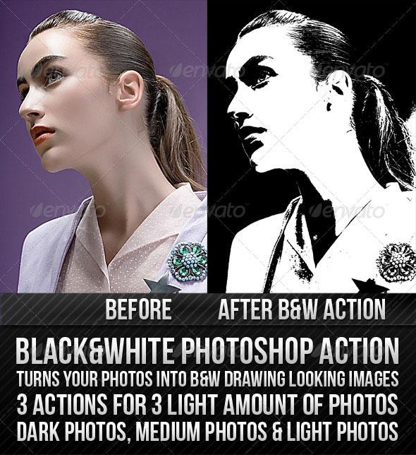 Black & White Action