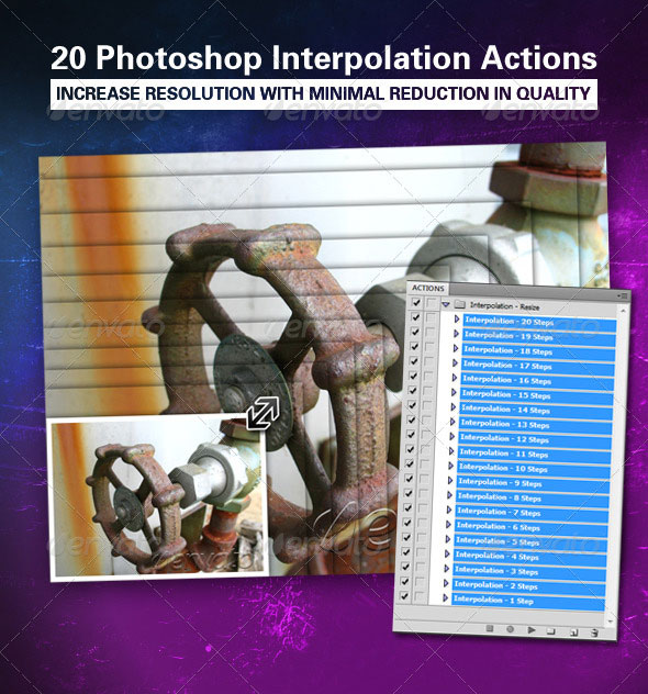 Image Interpolation Action