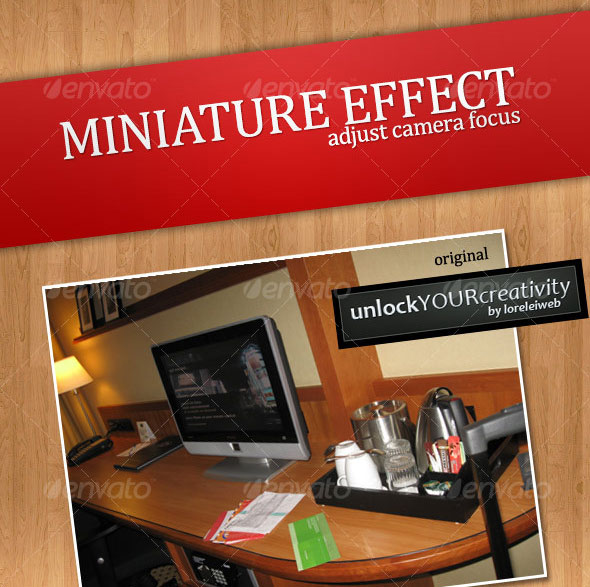 Tilt-Shift Miniature Effect - Adjust Camera Focus