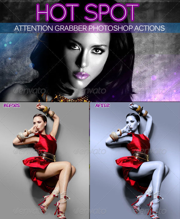 Hot Spot Photoshop Action