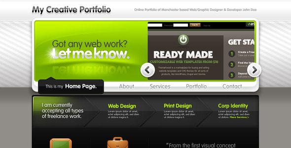 Creative Portfolio for Freelancers or Studios