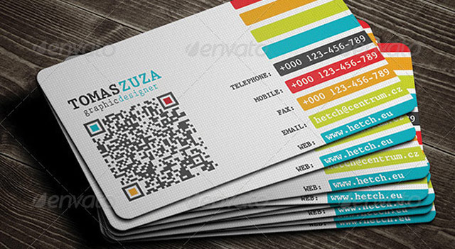 25 qr code business card templates web graphic design bashooka wajeb