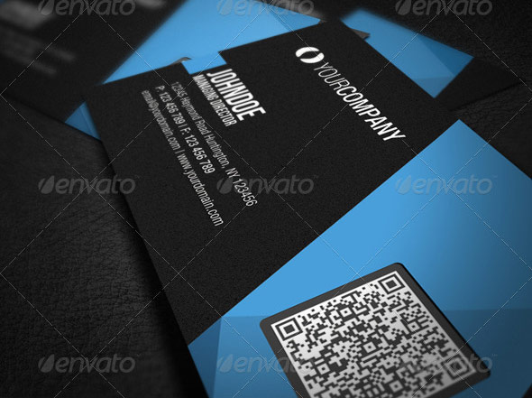 17 high quality qr code business card templates wakaboom social qr qr code business card templates web graphic design bashooka business card with qr code template reheart Choice Image
