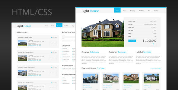Light House - Clean Real Estate HTML Template