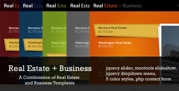 Real Estate + Business 5 in 1