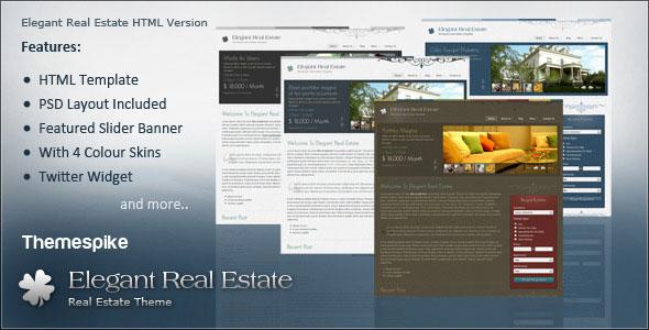 Elegant Real Estate HTML