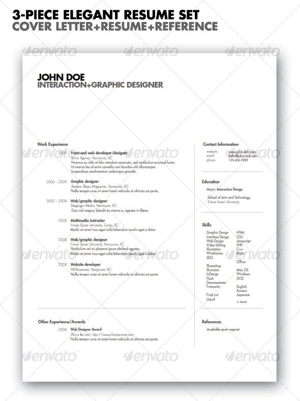 20 best resume templates  u2013 bashooka