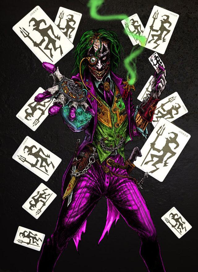 Steampunk Joker
