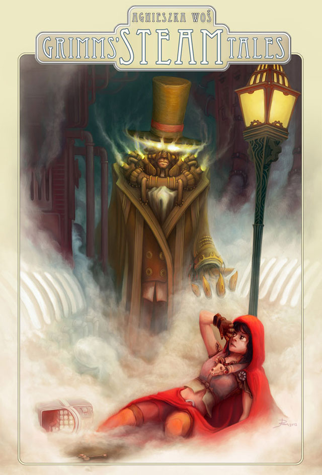 Steampunk - Red Riding Hood