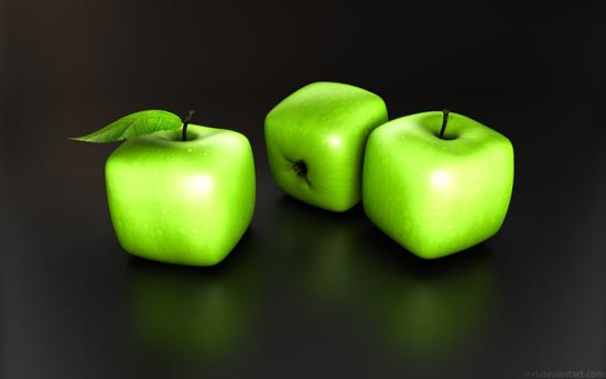 cubik apple
