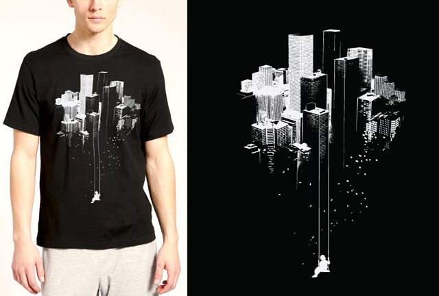cityscape - T Shirts Designs Ideas