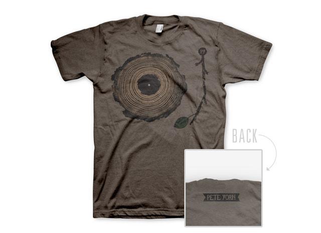 Pete Yorn T-Shirt Design
