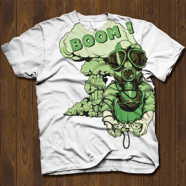 Vector T-shirt Design 332