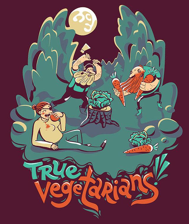 vegetarians!