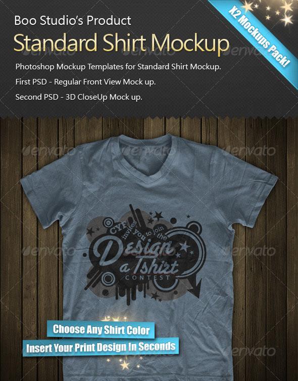 3D T-Shirt Mock-Up