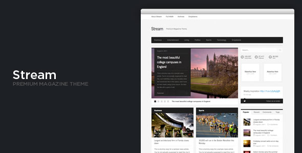Stream - WordPress News / Magazine Theme