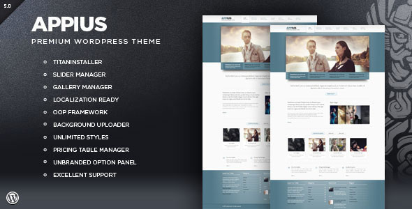 Appius - Premium WordPress Portfolio Theme
