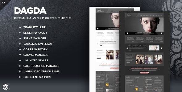 Dagda - Premium WordPress Theme