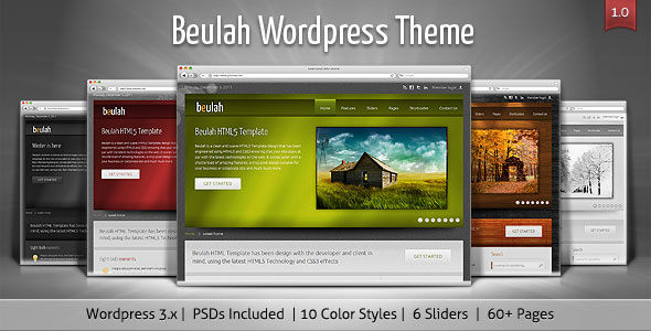 Beulah - Corporate & Business WordPress Theme