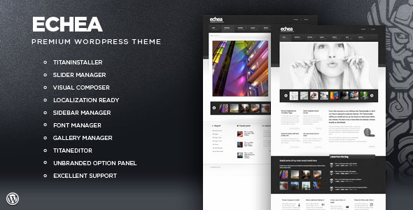 Echea - Premium WordPress Portfolio Theme