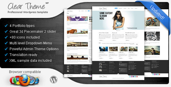 Clear Theme - Multipurpose WordPress Theme