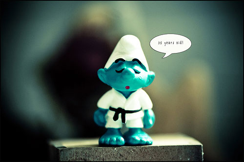 Martial Art Smurf