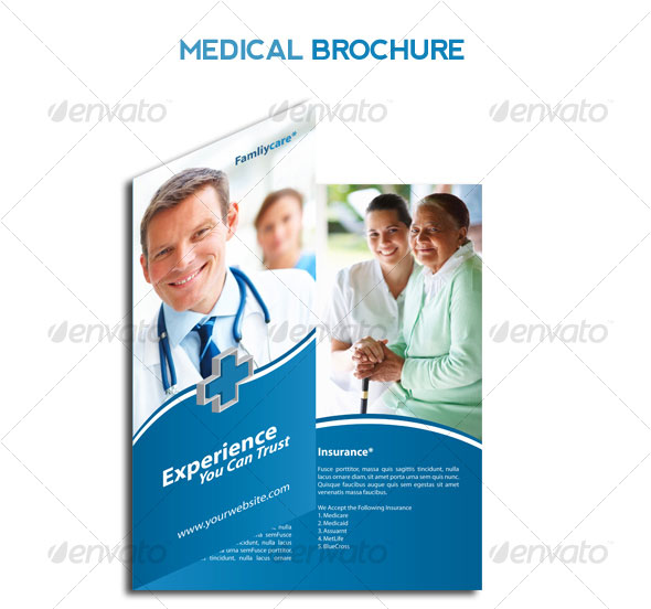14 Creative 3 Fold PhotoshopIndesign Brochure Templates – Hospital Flyer Template