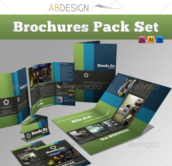14 Creative 3 Fold Photoshopindesign Brochure Templates Web