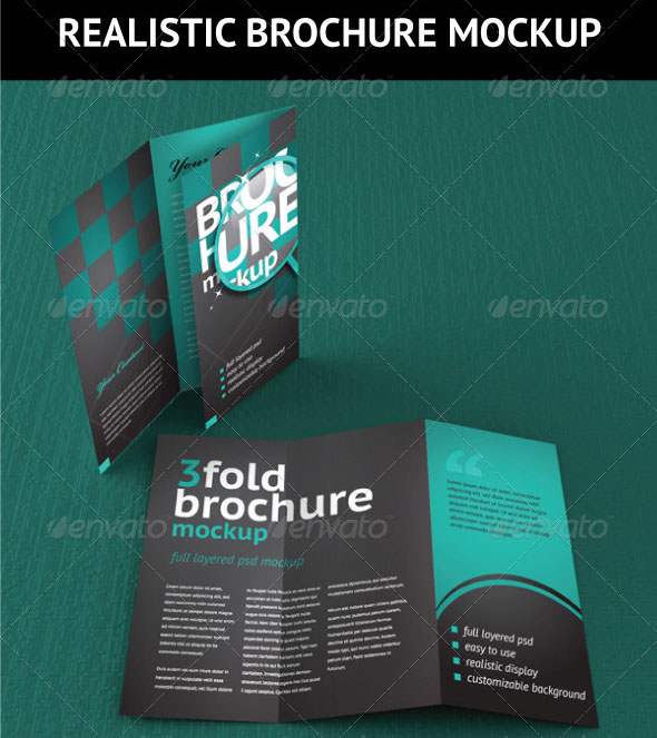 14 creative 3 fold photoshop indesign brochure templates for 6 fold brochure template