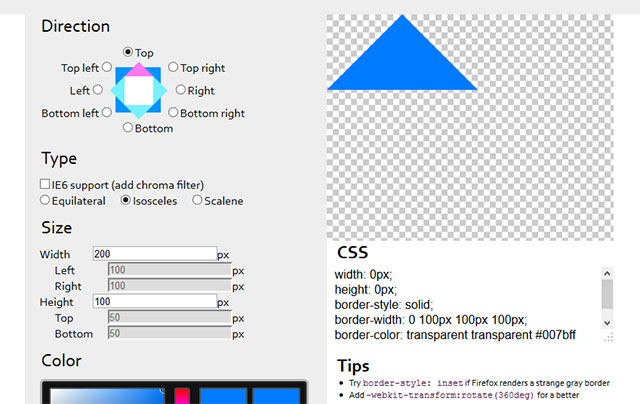 triangle-css