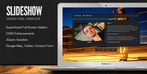 50 best vcard websites you can download web graphic design slideshow stylish online vcard html template maxwellsz