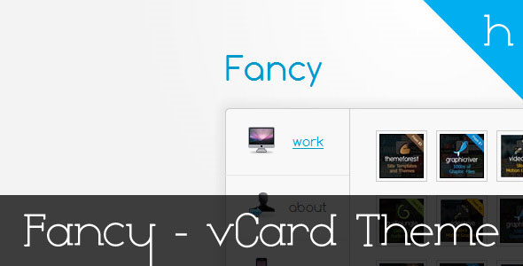 Fancy -  Professional vCard Theme