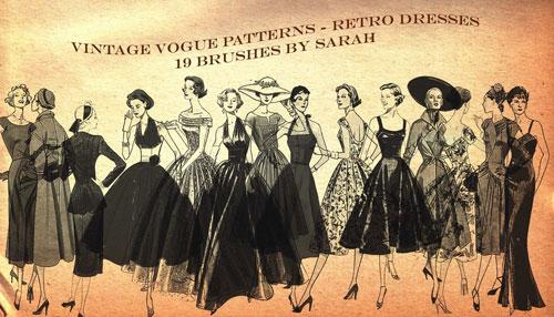 Vintage Vogue Brushes