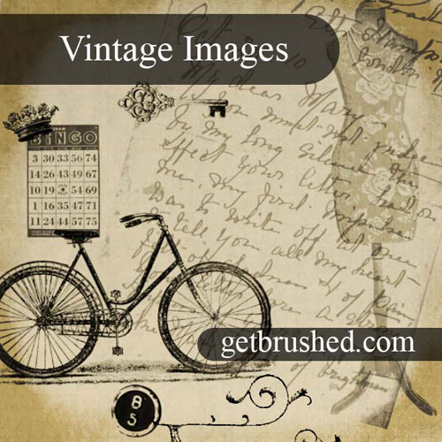 Vintage Images + Ephmera