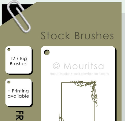 Brush Pack - Vintage Frames 02