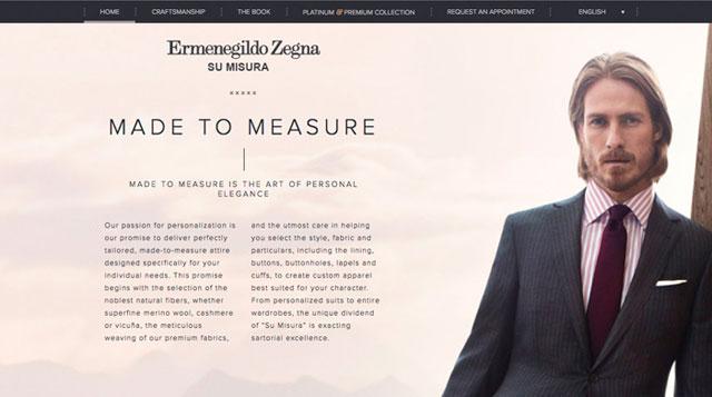 Ermenegildo Zegna – Made to measure