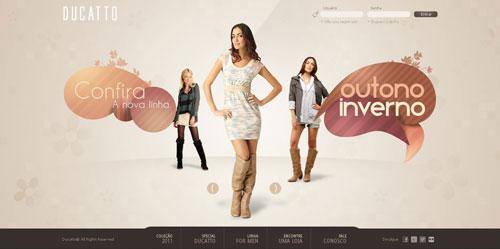 Ducatto Fashion Website