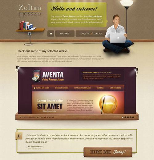 zoltanhosszu.com redesign