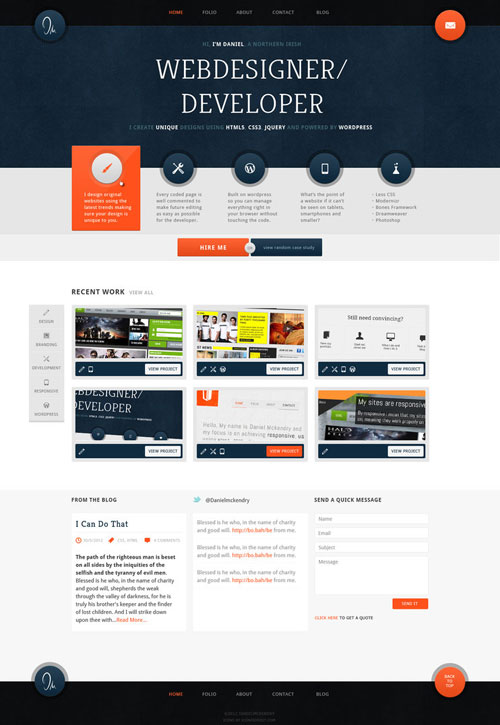 38 awesome web interface designs web amp graphic design