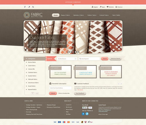 Fabric Beautiful Full Website