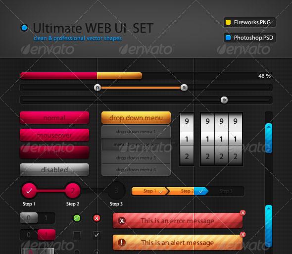 Ultimate Web UI Set