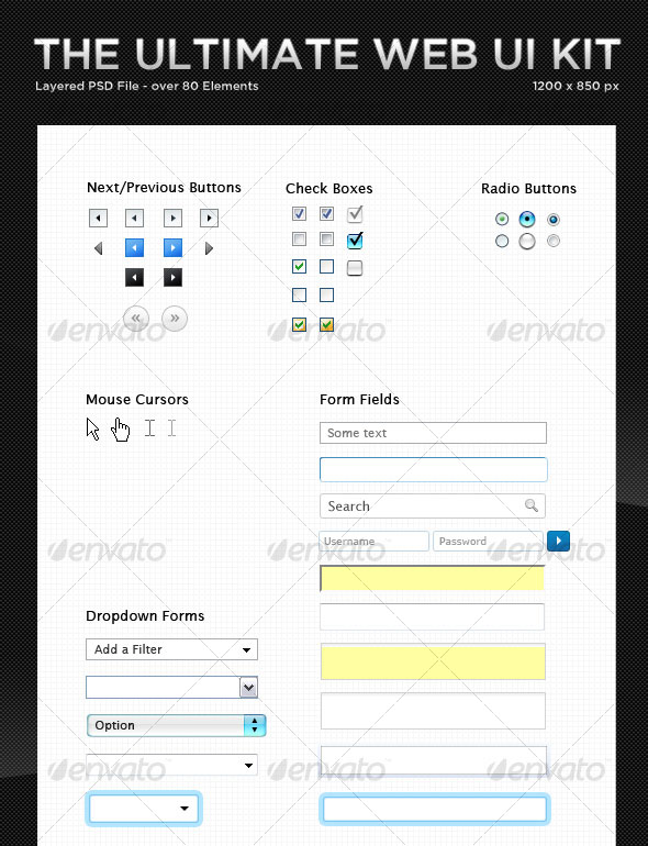 The Ultimate Web UI Kit