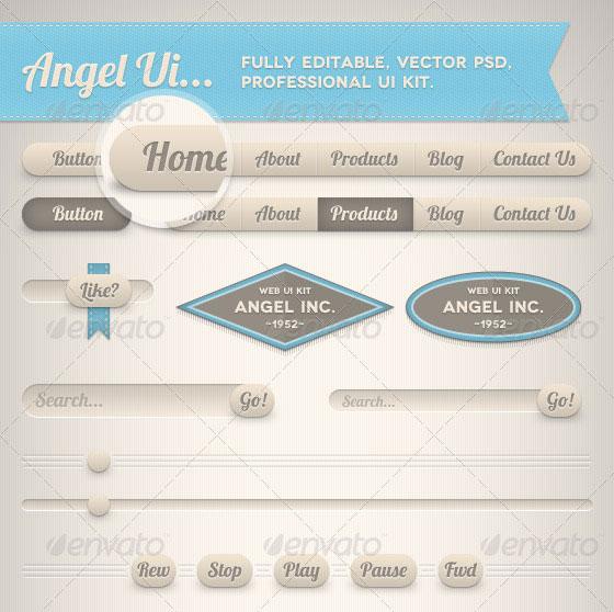 Angel Professional Ui Kit